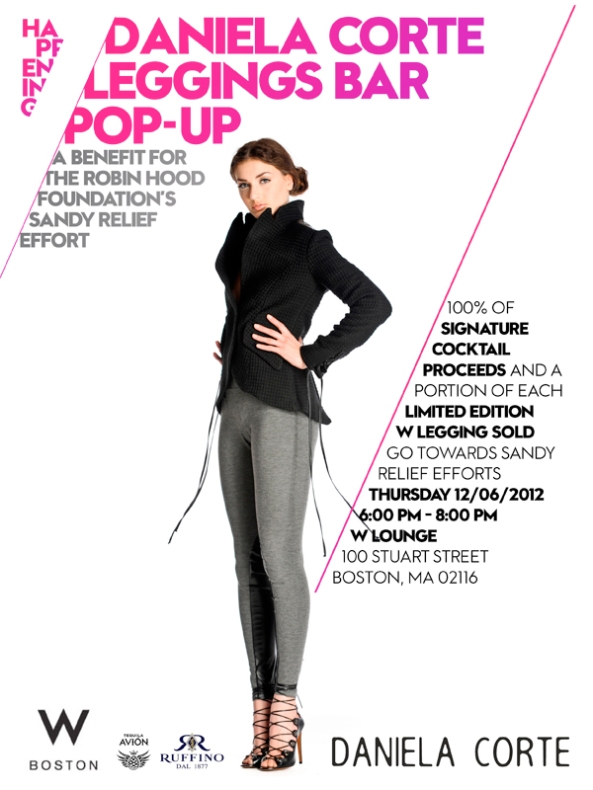 Leggings Pop up Bar