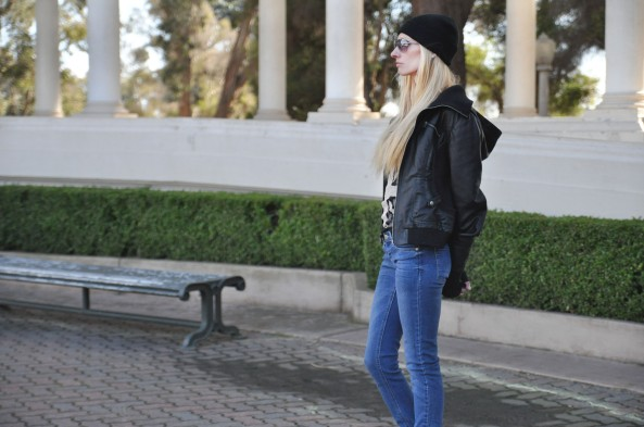 My Style: Graphics & Skinny jeans