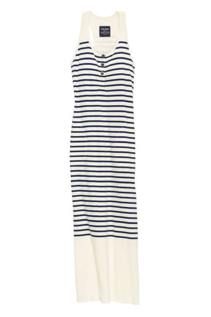 elle-coach-saint-james-long-striped-dress-xln-lgn