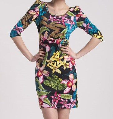 TropicalFlowerDress