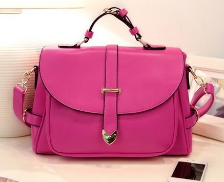 Fuschia-shoulderbag