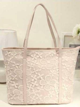 Floral Lace Bag