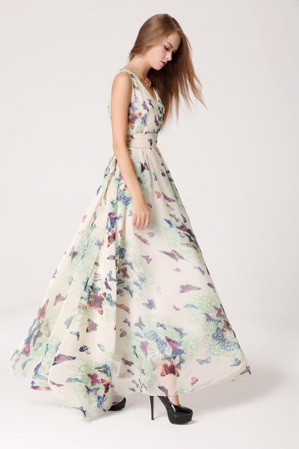 Butterfly Maxi Dress 3