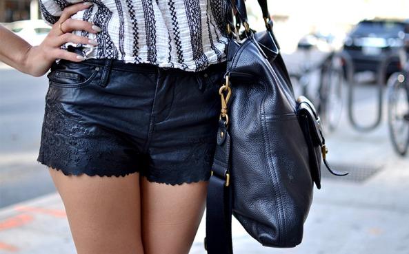 SummerStStyle-leathershorts